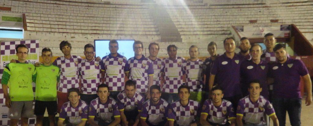 Equipo Senior, dirigido por Chencho con la preparación física de Jorge Plaza.