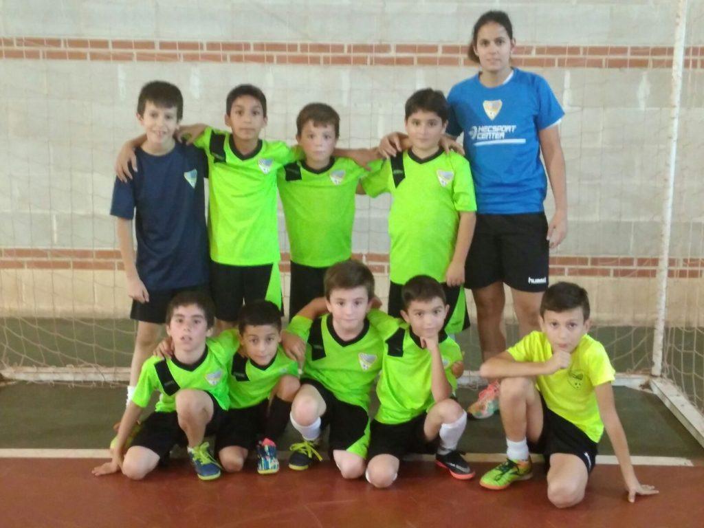 El Benjamín FS A consiguió remontar y ganar.
