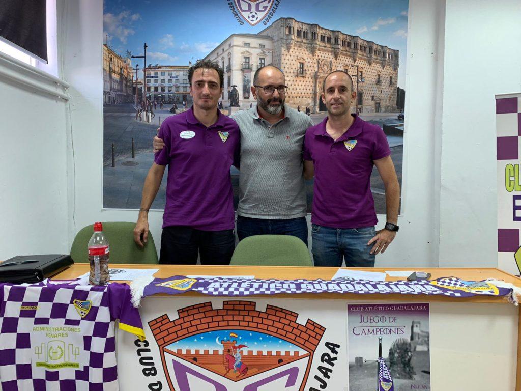De izquierda a derecha: Sergio Gómez Casero, Nacho Hombrado y Mario García.