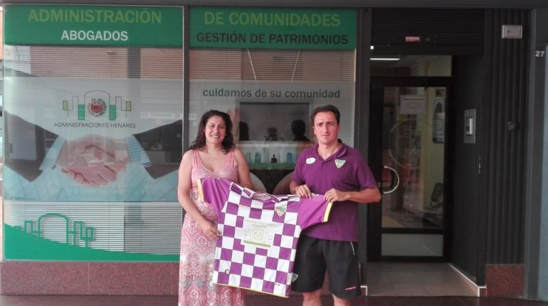 Administraciones Henares, colaborador del Atlético Guadalajara.