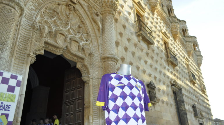 Nueva Camiseta del Atlético Guadalajara, inspirada en el Palacio del Infantado.